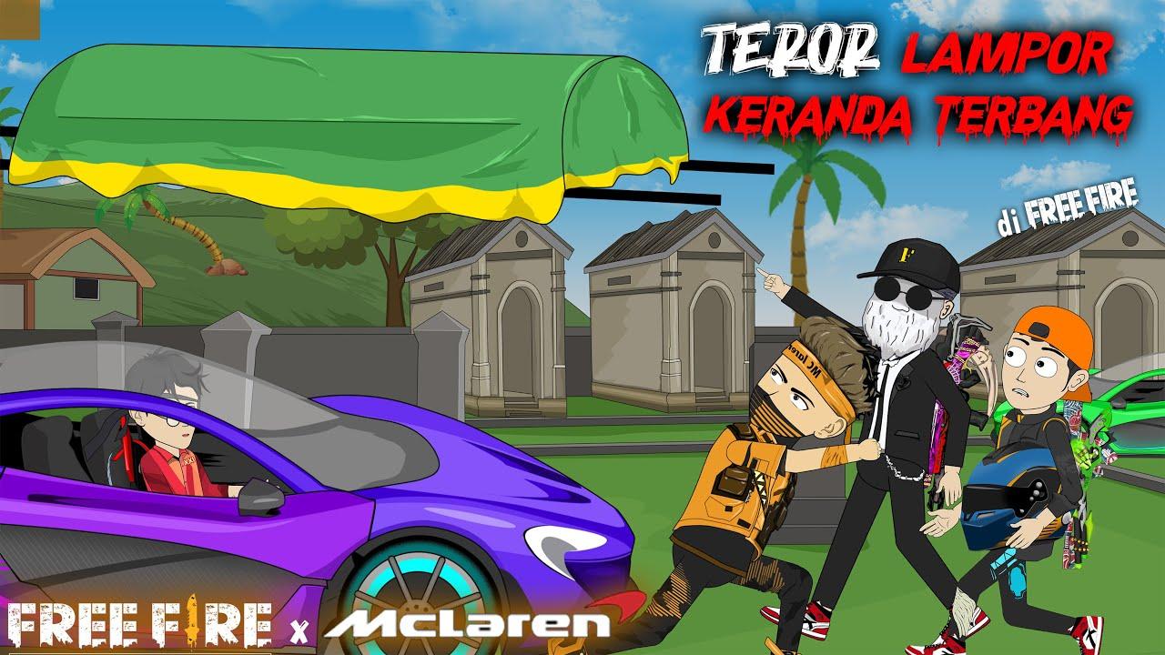 Melawan Pembalap MC Laren, ada Teror Lampor Keranda Terbang di Free Fire - Animasi Free Fire