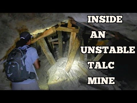 Exploring Saratoga Spring And Talc Mines - Death Valley, California