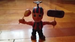 Балун бій з пластиліну з фнаф 2
