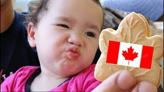 Trying Canadian Snacks