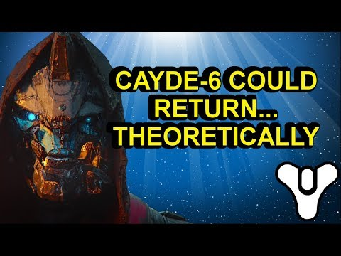 Destiny 2 lore Cayde-6 could return… theoretically | Myelin Games