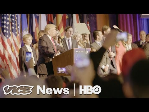 Inside The Javits Convention Center On Election Night (HBO)