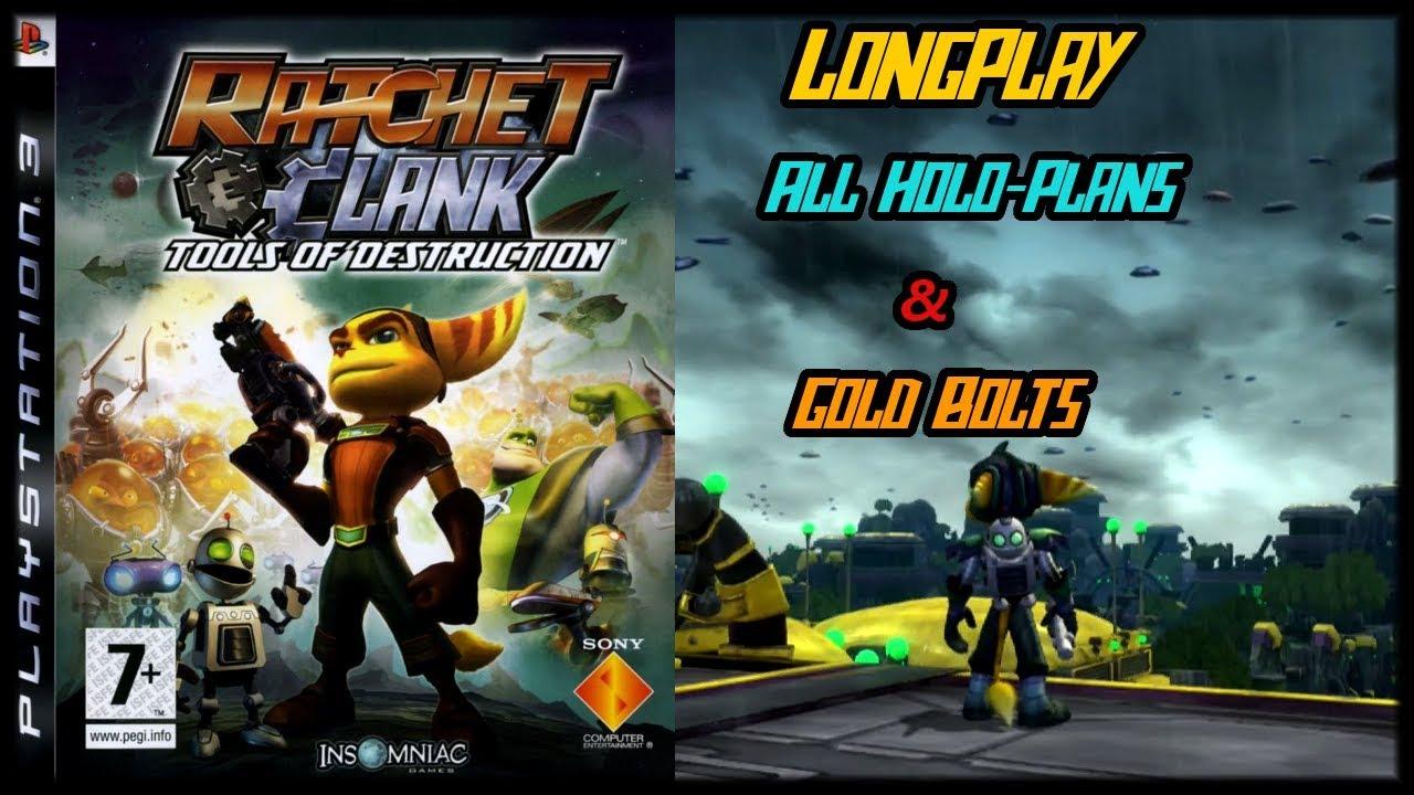 Ratchet Clank Future Tools Of Destruction Longplay All Holo