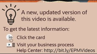 Overview: Integrated EPM Business Process Flows video thumbnail
