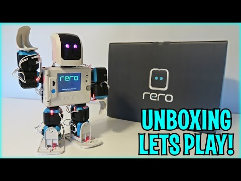 UNBOXING & LETS PLAY - ReRo Standard Kit (Reconfigurable Robot Construction Kit) FULL REVIEW!