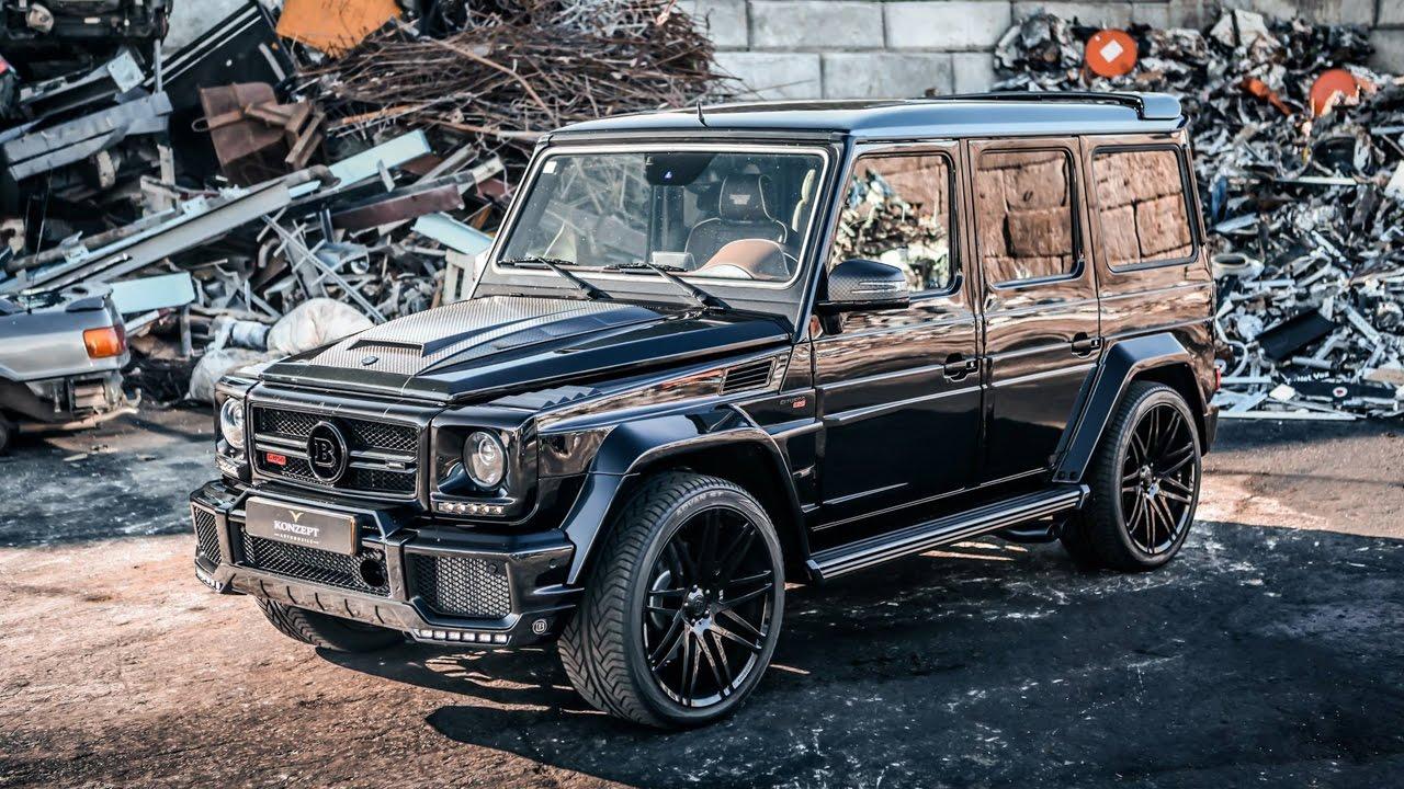 Mercedes G Wagon >> BRABUS 850 6.0 Biturbo G63 - Cold Start + BRUTAL REVS! - YouTube