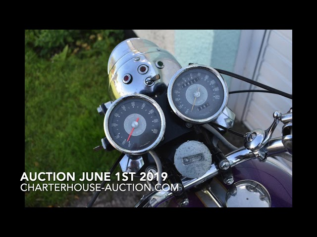 What is in the auction on June 1st 2019