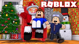 SANTA CLAUS TURNED EVIL ROBOT in ROBLOX