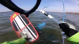 Easter Sunday KiteFoil Session - Lake Waconia, MN
