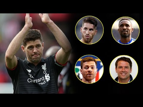 Players and ex-players react to Steven Gerrard's retirement