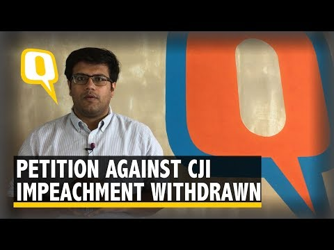 Why Kapil Sibal Withdrew The Petition Against Rejection of CJI Impeachment Motion? | The Quint