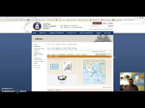Tips for finding data on CIA World Factbook
