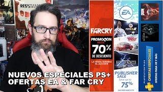 Especiales PS+, ofertas EA & Far Cry en PS Store Feb 20, 2018