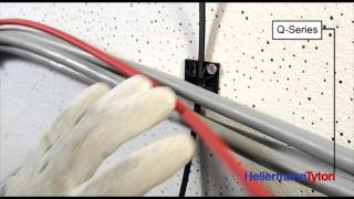 This video shows how easy HellermannTyton´s Q-Series can be applied even with gloves! The new Q-Series offers intelligent, innovative fixing solutions with ...