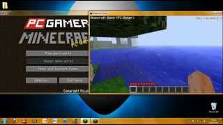 Minecraft Pc gamer demo hack.