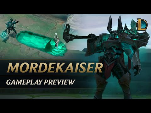 Mordekaiser Gameplay Preview | League of Legends