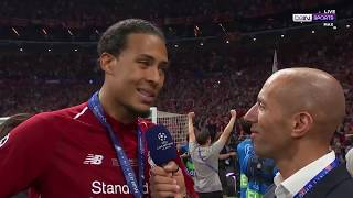 Virgil Van Dijk: We grew as players and as a group from Kyiv last year
