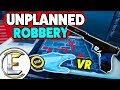 ROBBERY THAT DON'T GO TO PLAN IN VIRTUAL REALITY - Payday 2 VR (Unplanned Bank Robbery)