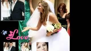 شاهد اجمل صور باسكال مشعلاني بفستان الزفاف