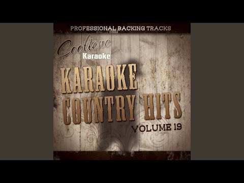 Thirsty (Originally Performed by Hank Williams, Jr) (Karaoke Version)