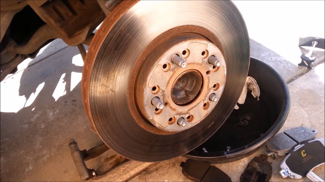 DIY How to Replace Front Disc Brakes on 2002 Lexus IS300 Winston