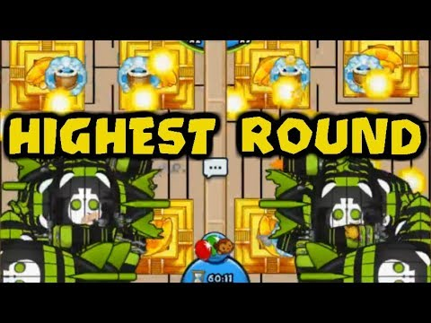 Highest Round on the Longest Map Ever? Bloons TD Battles Late Game! (BTD Battles)