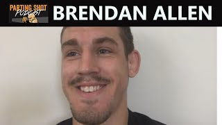 Brendan Allen Talks LFA Middleweight Title Fight Sept 21 and Spending Entire Camp at Roufusport