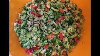 Broccolisalat aus der Monsier Cuisine TM Thermomix Rezept Mo Ni