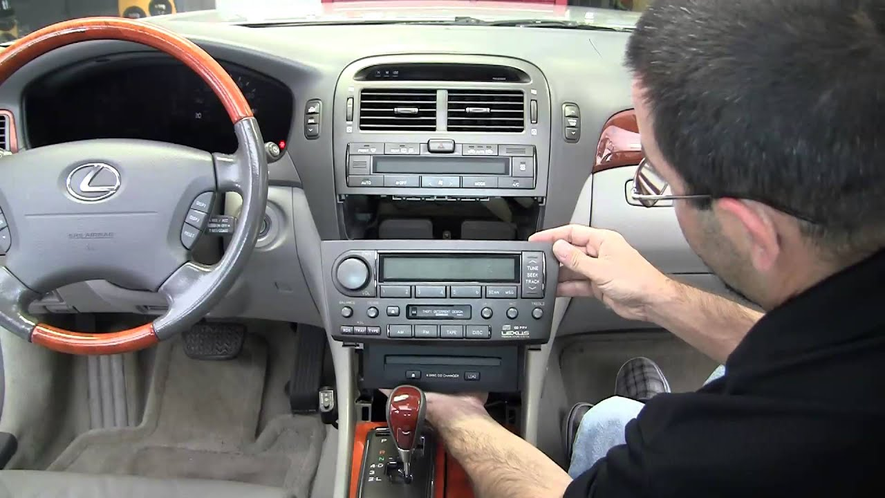 Metra Lexus Ls 430 Stereo Dash Kits 95 And 99 8160g Youtube