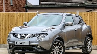 Nissan Juke 1.6 Tekna Xtronic Auto Sat Nav 360 Rear Cam Bluetooth Full Leather Heated Seats EF14BVE