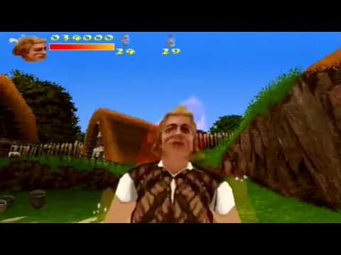 Asterix & Obelix: Take On Ceasar [PS1] - (Walkthrough) - Full Game