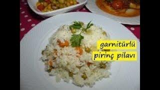 garnitürlü pirinç pilavı- lezzet dünyası