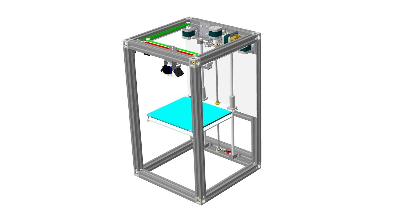 Сборка профессионального 3Д принтера. Часть 3