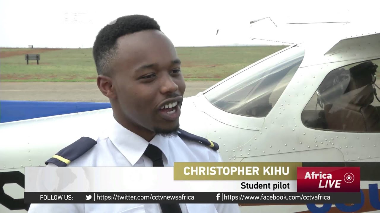 South African aviation school offers course to more black Africans.