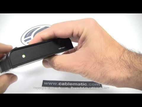 Conversor De Vídeo Compuesto CVBS Y Audio A HDMI Mini LKV363mini Distribuido Por CABLEMATIC ®