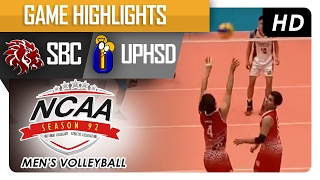 getlinkyoutube.com-UPHSD vs SBC | Final Four Game Highlights | NCAA 92 Men's Volleyball