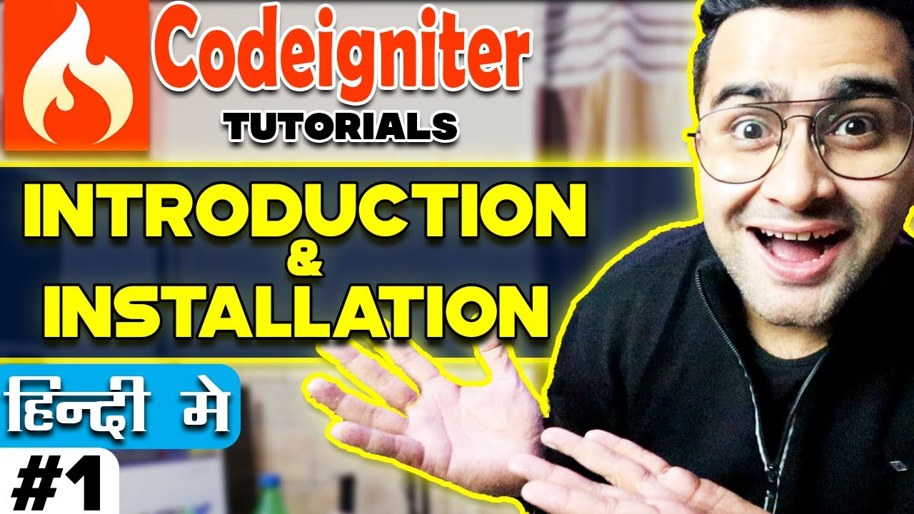 Codeigniter Tutorial in Hindi (Introduction & Installation)    CodeIgniter-3 1 6   Part-1