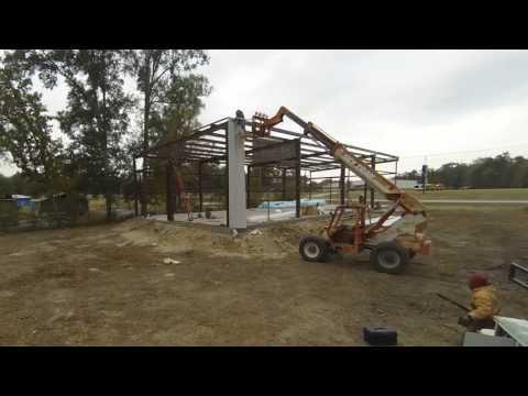 Fireworks Warehouse Metal Building Buildout