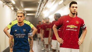 Manchester United vs Arsenal ft Raul Jimenez, Coutinho , Sancho , Gabriel