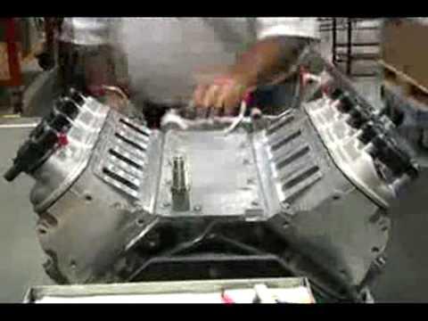 2009 Corvette ZR1 LS9 Engine Build