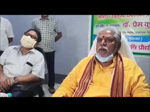 दो घंटे जाम में फिर पत्रकारों के सवालों मे फंस गये बिहार के कृषि मंत्री