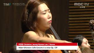 2018 ISANGYUN COMPETITION FINAL ROUND - Christine Jeong Hyoun Lee