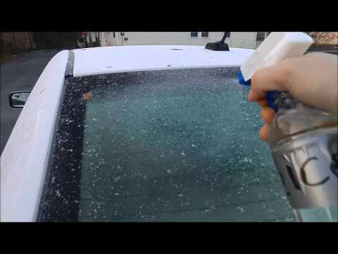 how to make windshield de icer
