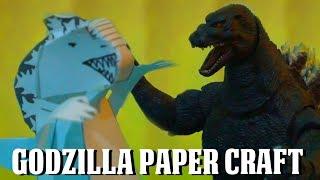 Godzilla Paper Craft