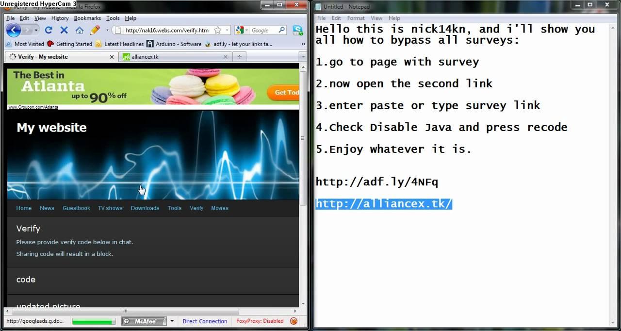 How To Skip Adfly Surveys
