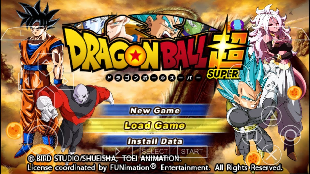 Dragon Ball Super TTT MOD - PPSSPP Android by Aragami Group