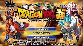 Dragon Ball Super TTT MOD - PPSSPP Android