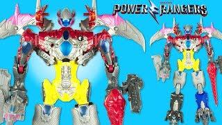 Power Rangers Megazord construit avec 5 Zords légendaires Transformables Jouet Toy Review 2017 Film