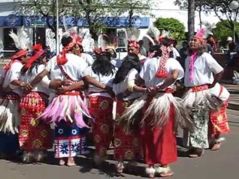 Traditional Native Guarani Dance of Paraguay