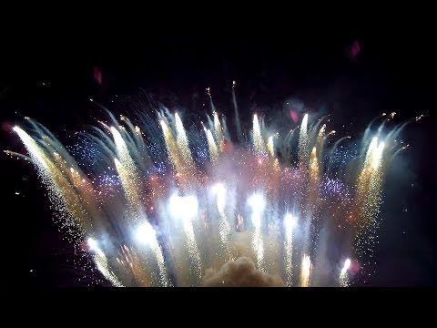 The most INSANE amateur fireworks show you've ever seen!